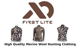 FirstLite Merino Wool Hunting Clothing