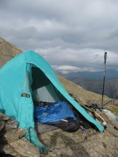 Banshee Setup In Tent